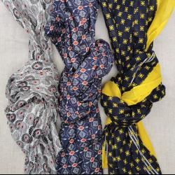 Foulard coton mixte