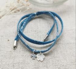 Bracelet lien fin liberty (3 couleurs au choix)