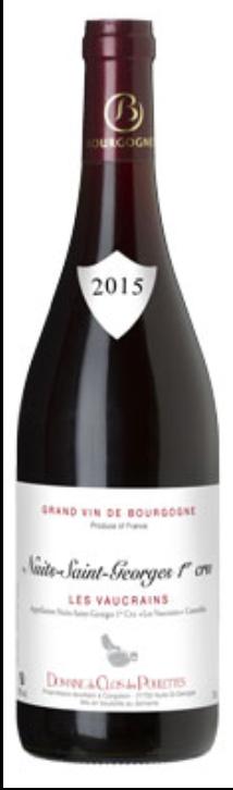 Nuits St Georges 1er cru les Vaucrains 2015