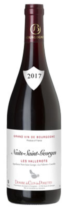 Nuits St Georges les Vallerots 2017