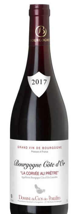 Bourgogne côte d'Or rouge 2017