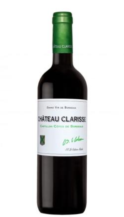 Château Clarisse Castillon, Côtes de Bordeaux 2016