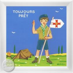Tableau scout d'Europe