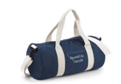 sac de sport rouge ou bleu, brodé «Sportif de l'année»