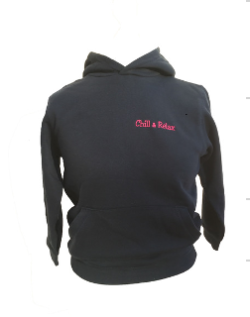 sweat capuche fille Chill & Relax