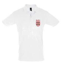 Polo Blanc - Adulte - Logo Franklin