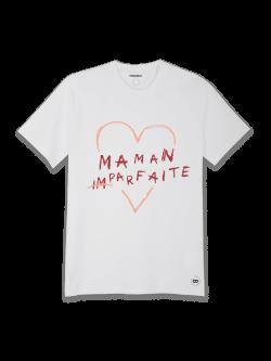 Tee-shirt Femme coton bio Maman (im)parfaite