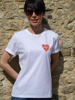 Tee-shirt Femme coton bio Toi Moi Nous