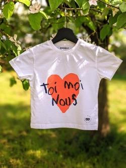 Tee-shirt Enfant coton bio Toi Moi Nous