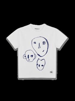 Tee-shirt Enfant coton bio Bonnes têtes bleues