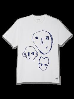 Tee-shirt Homme coton bio Bonnes têtes bleues