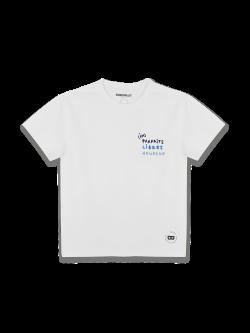 Tee-shirt Enfant coton bio brodé (im)parfaits libres heureux