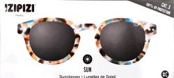 Lunettes de soleil - Écaille claire