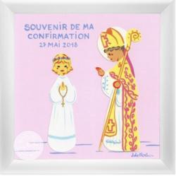 Tableau souvenir confirmation - personnalisable