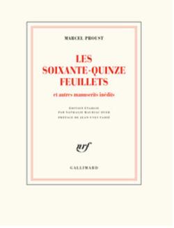 LITTERATURE FRANCAISE - Les soixante-quinze feuillets