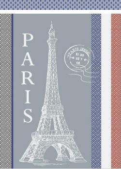 TORCHON Paris gris