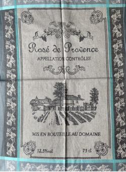TORCHON Vin côte de Provence anis ou gris
