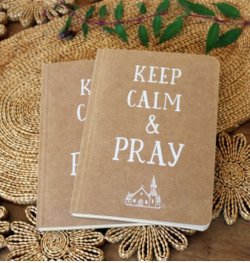 Carnet de note : Keep Calm and Pray